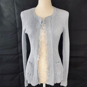 Anthropologie Knitted & Knotted Cardigan Size S